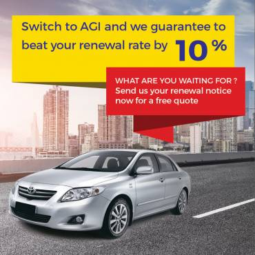 Guarantee beat your renewal rate by 10%
