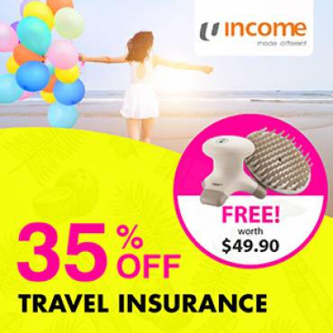 Travel Insurance Promotion from 16 -31 Jan 2018