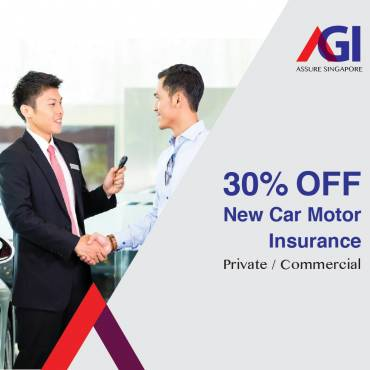 30% Off New Car Motor Insurance