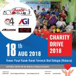 Participating Charity Drive with Audi A5 Club