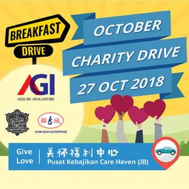 AGI Oct 2018 Charity Drive