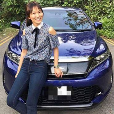 Joanne Peh involved in accident, gets offered services for car repairs and insurance at scene