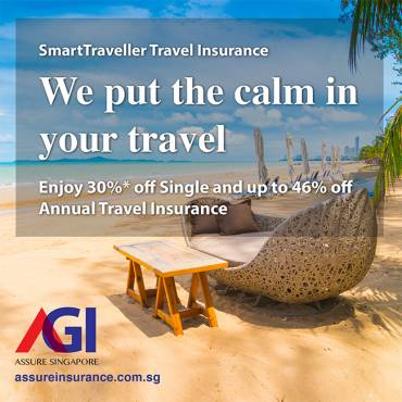 AXA Travel Insurance Promotion from now till 30 Apr 2019