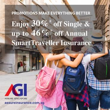 AXA Travel Insurance Promotion from now till 31 May 2019