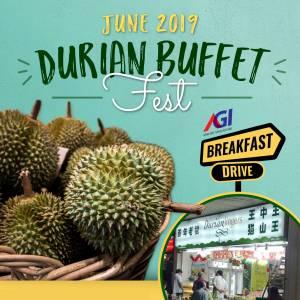AGI Durian Buffet Fest
