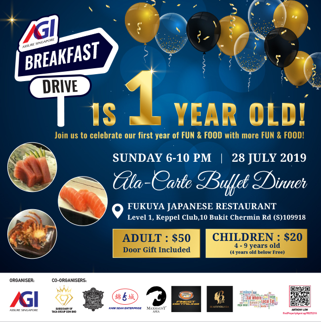 AGI Breakfast Drive 1st Anniversary