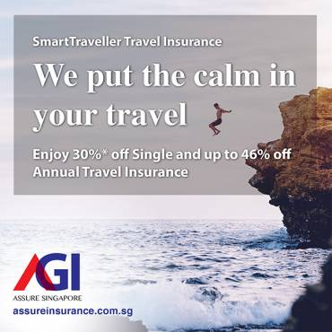 AXA Travel Insurance Promotion from now till 31 Aug 2019