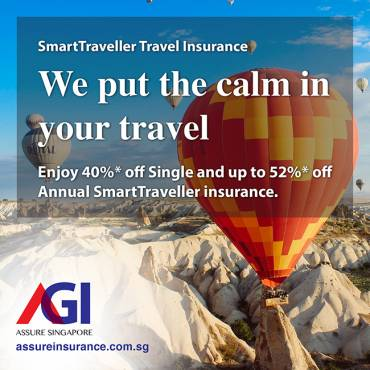 AXA Travel Insurance Promotion from now till 30 Sept 2019