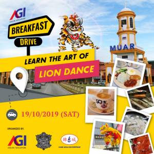 Learn the art of LION DANCE
