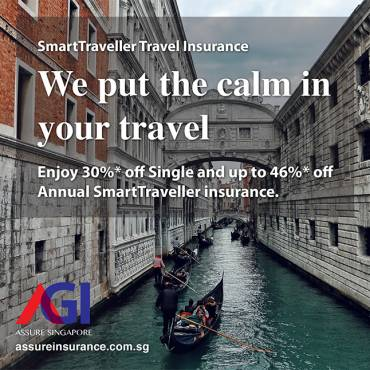 AXA Travel Insurance Promotion from now till 31 Oct 2019