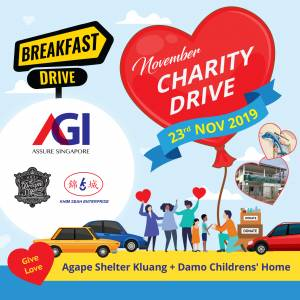 AGI Nov 2019 Charity Drives
