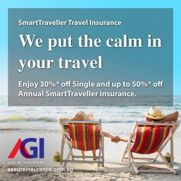 AXA Travel Insurance Promotion from now till 29 Feb 2020
