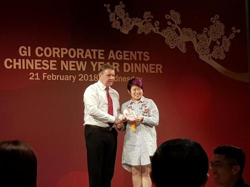 AGI NTUC income GI corporate agents CNY Dinner