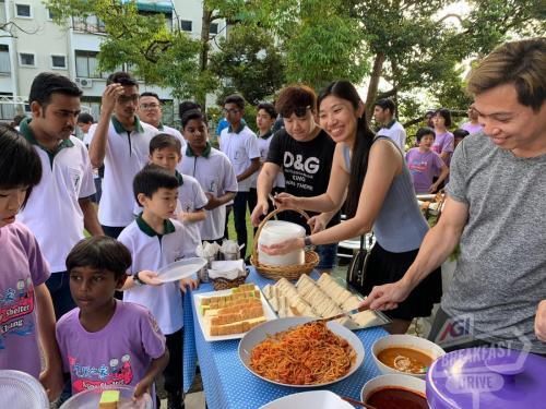 AGI Charity Drive - Kluang (23 Nov 2019)