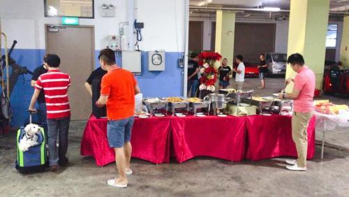 AGI Breakfast Drive CNY LouHei