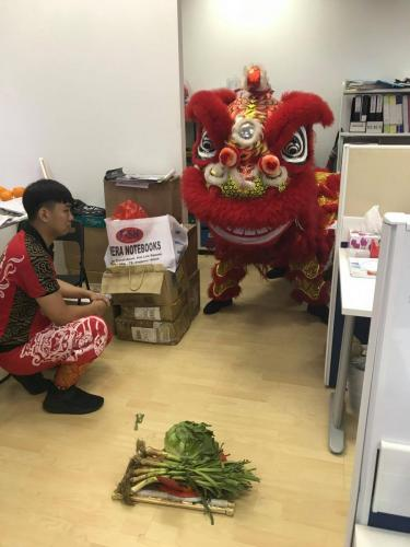 AGI CNY 2019 Lion Dance