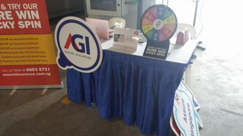 AGI Road Show at Carros Centre