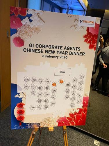 Income GI Corporate Agents CNY Dinner 2020