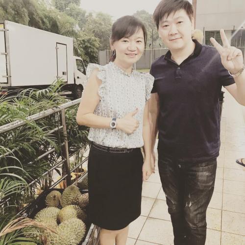 NTUC Durian Fest 002
