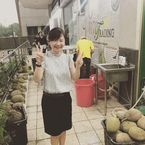 NTUC Durian Fest 006