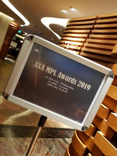 AXA MPL Awards 2019